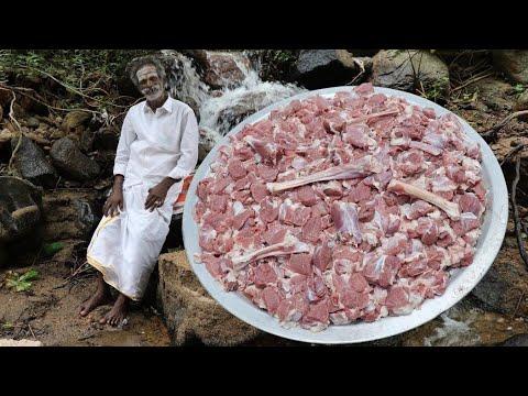 Mutton Ghee Roast Prepared by my Daddy Arumugam / Village food factory