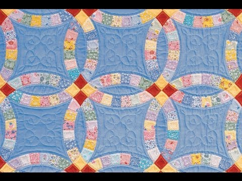 Double Wedding Ring Quilt Video By Sharlene Jorgenson Youtube