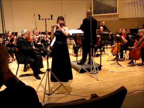 "Mimi Stillman performs David Finko's ""Concerto for Piccolo and Orchestra"""