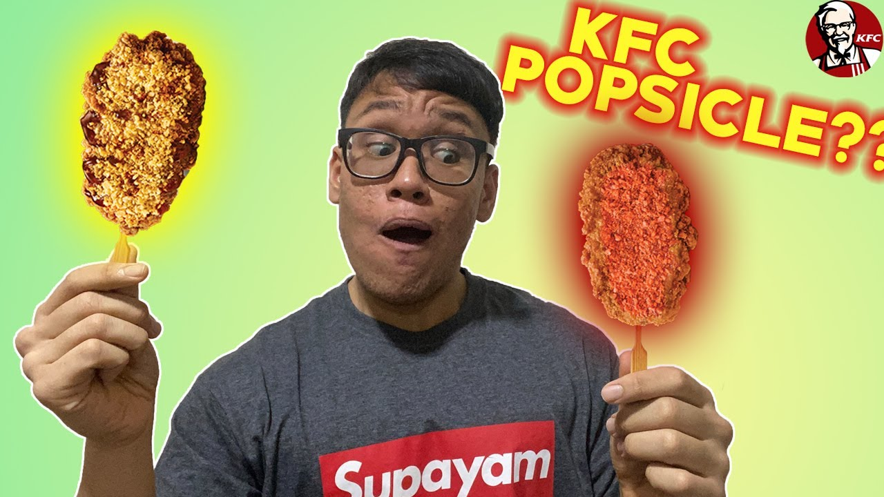 Download KFC POPSICLES! BETTER THAN ICE-CREAM? | WATCH ME EAT