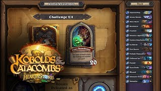 NEW HEARTHSTONE EXPANSION: Kobolds and Catacombs - Dungeon Run!