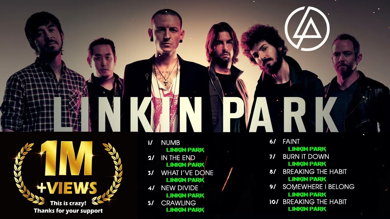 Download Linkin Park Full Album | The Best Songs Of Linkin Park Ever - Numb,  In The End, New Divide,  Faint