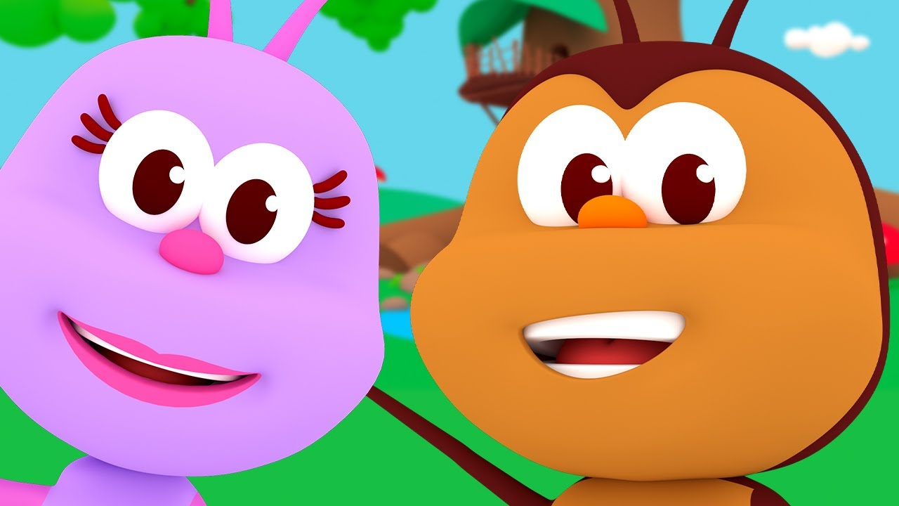 If You Are Happy And You Know It and More Funny Songs of Little Bugs!  - Kids Songs & Nursery Rhymes