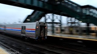 Amtrak Lake Shore Train #48/49 (+New Viewliner Baggage Cars) in Westchester, NY