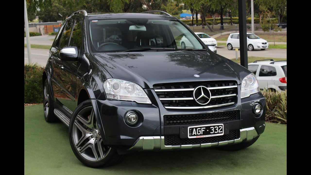 b5140 2010 mercedes benz ml63 amg auto 4x4 review youtube. Black Bedroom Furniture Sets. Home Design Ideas