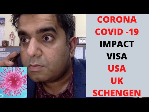 CORONA VIRUS AFFECT ON VISA APPLICATION FOR USA EUROPE AND CANDA | COVID 19 IMPACT ON VISA APPROVAL