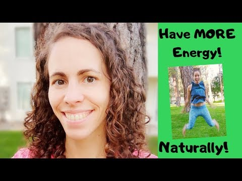 Tips for MORE energy by using natural boosters and supplements! STOP Using Unhealthy Energy Drinks!