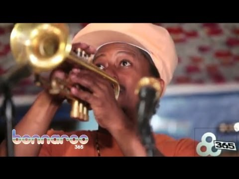Kermit Ruffins  Drop Me Off In New Orleans  Jam in the Van  Bonnaroo365