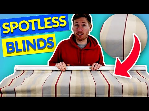 How to Clean a Roman Blind | How to Clean Fabric Blinds