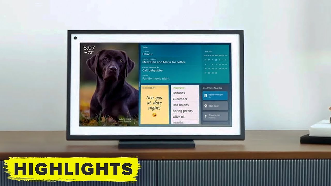 Download Amazon introduces Echo Show 15 (full reveal)