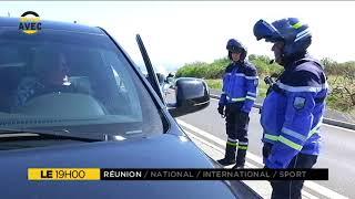 Guy Lauret, motard de la gendarmerie départementale de La Réunion