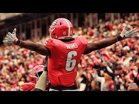 lowest price 6c0c3 6c2ca Javon Wims Georgia 2017 Season Highlights ᴴᴰ ||