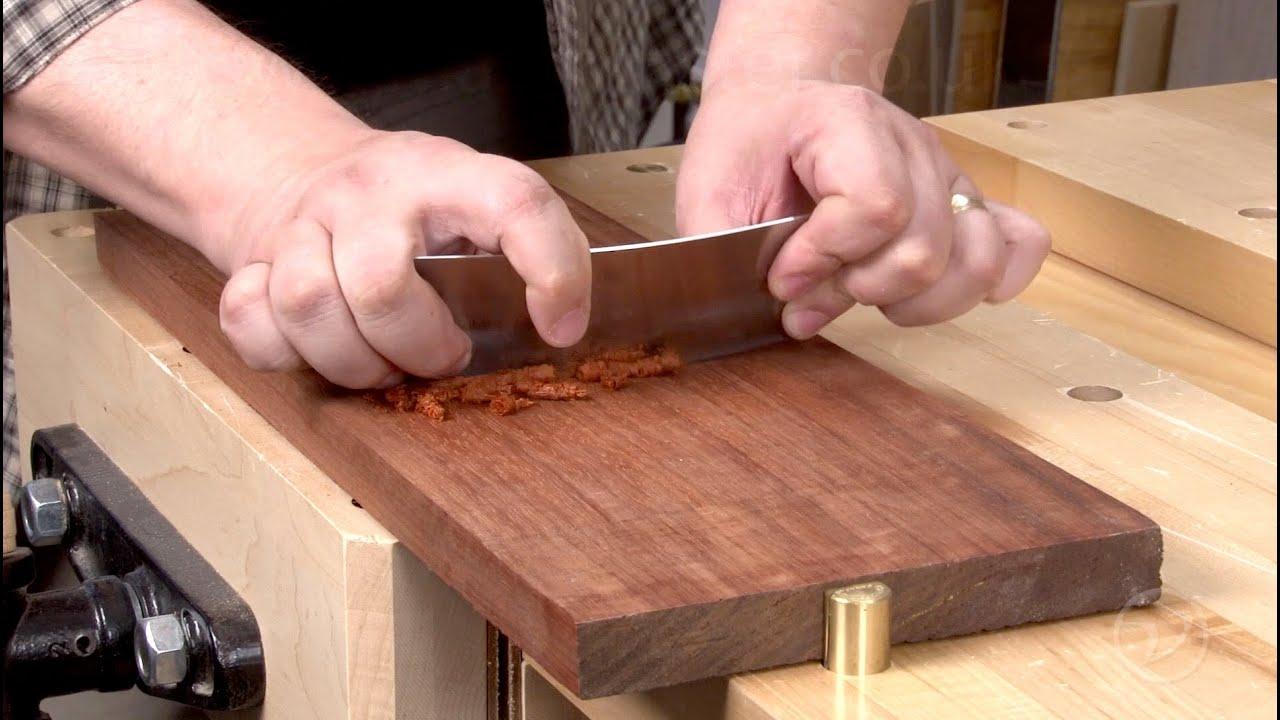 How To Sharpen A Card Scraper Youtube