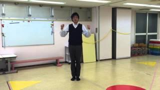 小学校受験のための運動。 今回は《リズムジャンプ》です。 リズムに合...