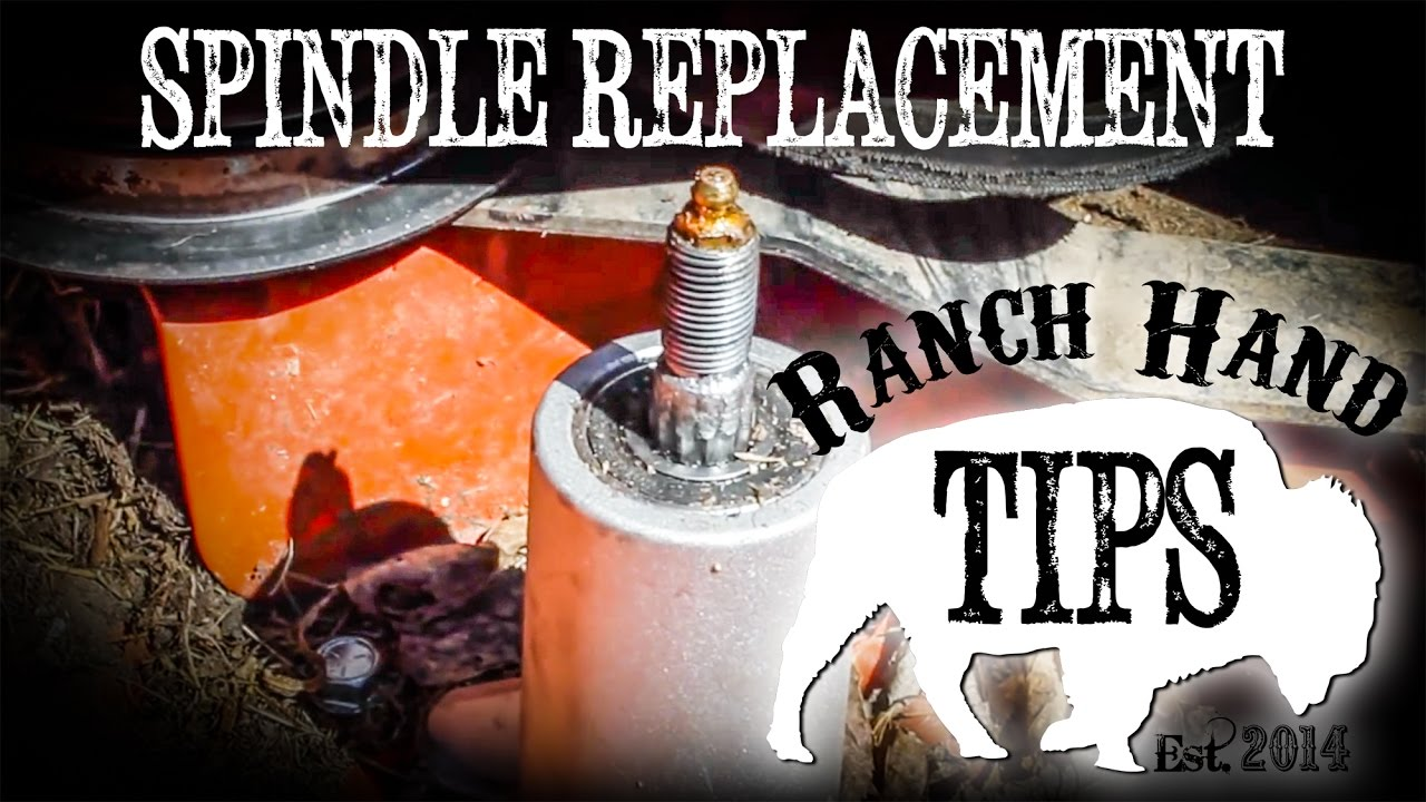 Husqvarna Riding Mower Spindle Assembly Repair- Ranch Hand Tips