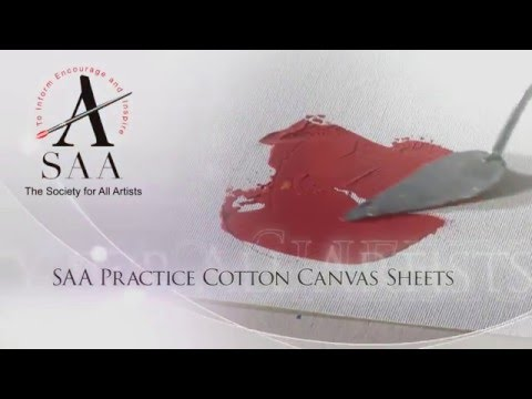 SAA Practice Cotton Canvas Sheet