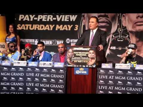 AMIR KHAN v LUIS COLLAZO - FINAL PRESS CONFERENCE - THE MOMENT (MAY 3)