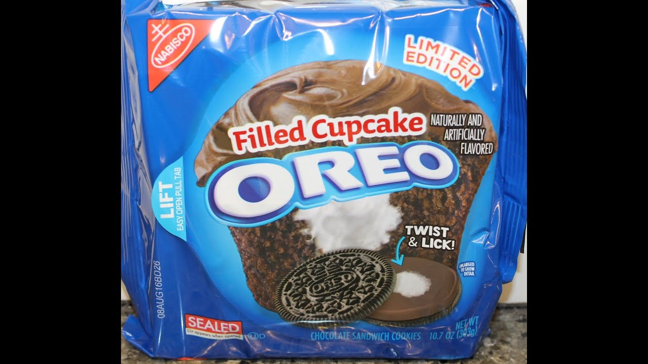 oreo filled cupcakes