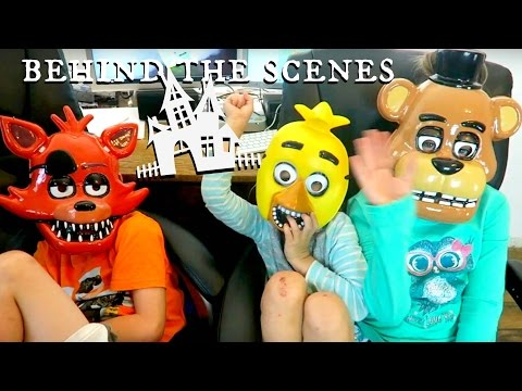 Thumbnail: Five Nights at Freddy's Costumes and Behind The Scenes SuperHero Kids