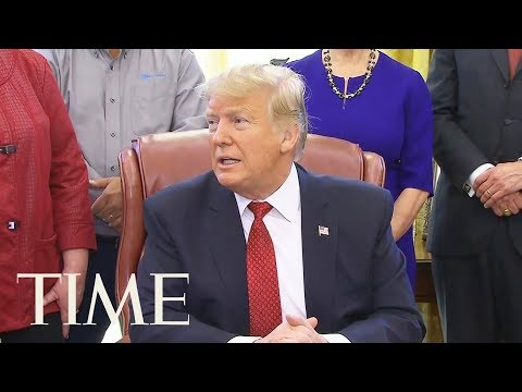President Trump Says Respects Stacey Abrams, Who Will Give Democratic Response Following SOTU | TIME