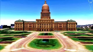 HISTORICAL PLACES OF TEXAS STATE,U S A  IN GOOGLE EARTH PART ONE ( 1/2 )