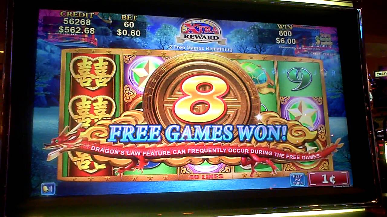 Dual Dragon Slot Machine