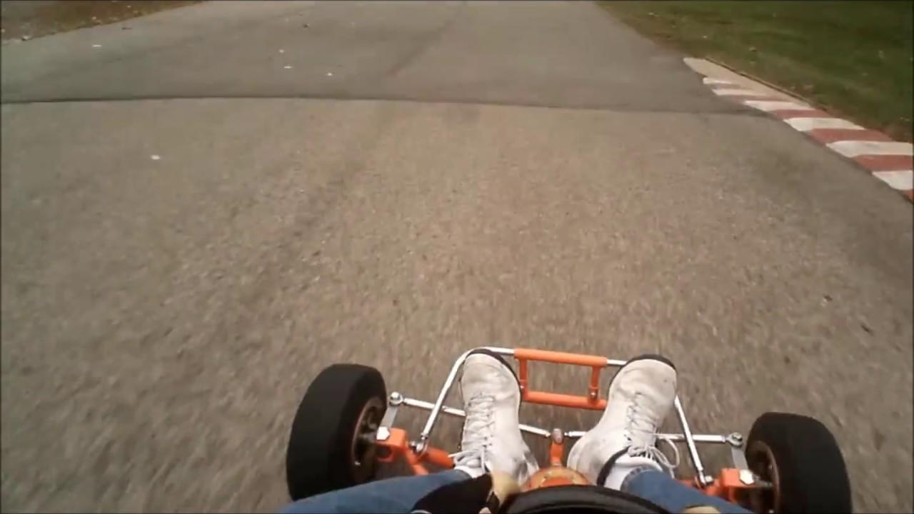 Sugar River Raceway - Vintage Kart Rupp Dual Rear Engine - Kart Racing