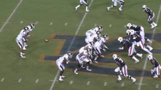 2013 Auburn vs. Mississippi State Highlights