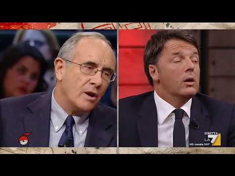 Matteo Renzi si confronta con i giornalisti Massimo Franco, Massimo Giannini e Alessandro Sallusti
