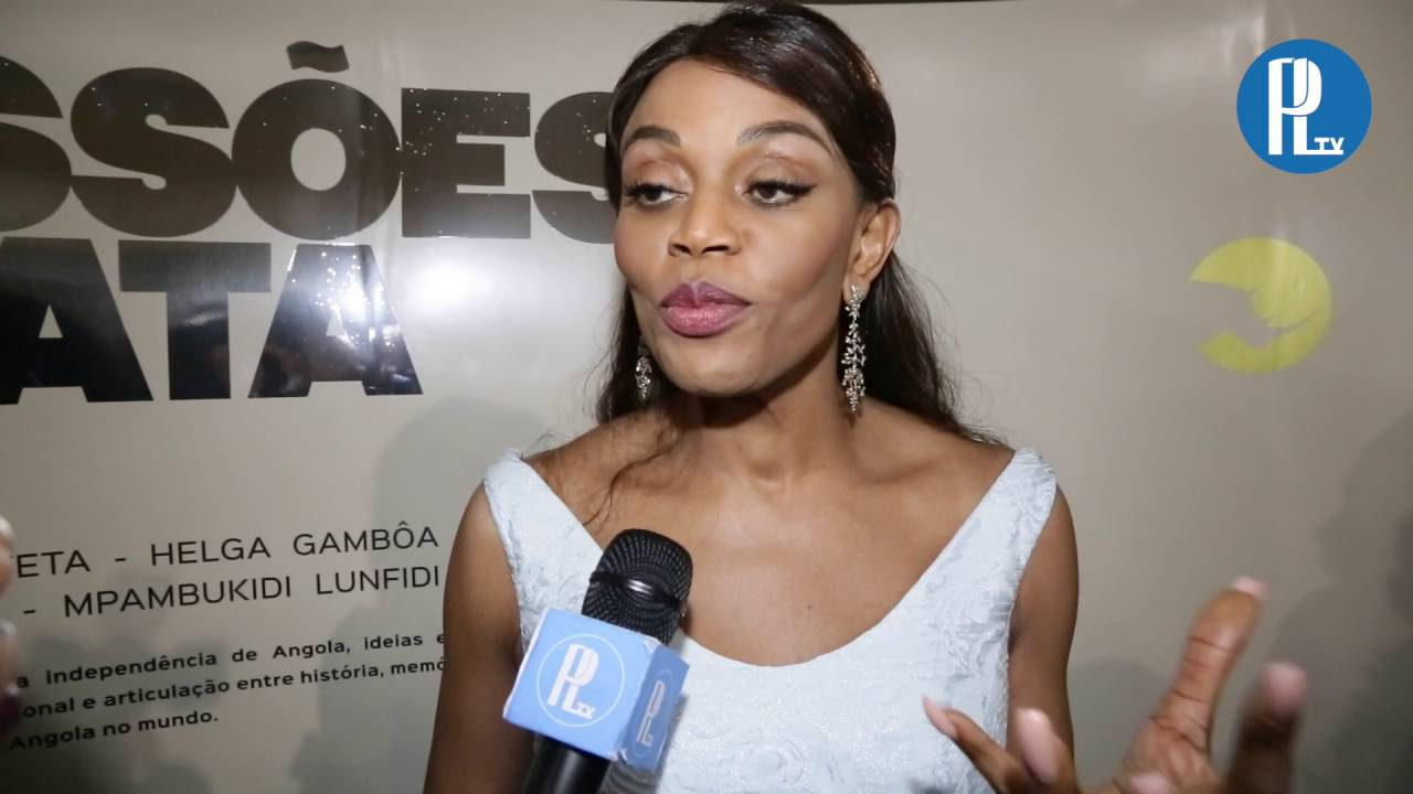 """Ana Paula dos Santos Inaugura Exposição """"Angola 40 Anos ..."""