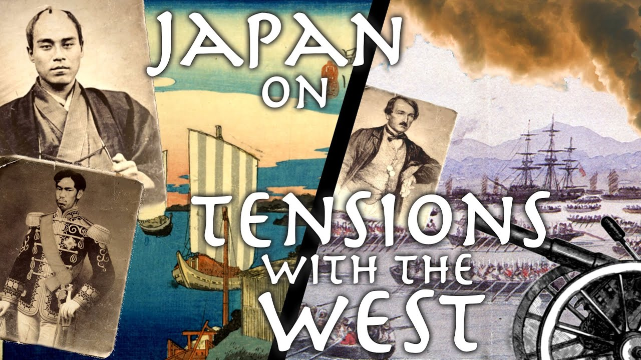First Japanese Visitor to US + Europe Describes Birth of Modern Japan (British Attack + 2nd US Trip)