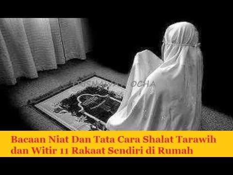 Bacaan Niat Dan Tata Cara Shalat Tarawih dan Witir 11 ...