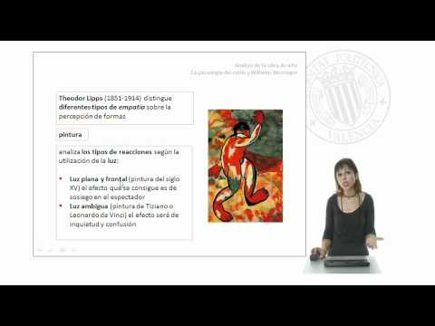 Análisis de la obra de arte: La psicología del estilo de Wilhelm Worringer |  | UPV