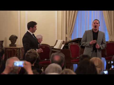 Tenor Teodor Ilincai and Baritone Gyula Nagy in 1 Belgrave Square