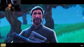 """Cizzorz REACTS To """"Cizzorz DeathRun A Movie"""" Fortnite Cinematic Moments"""