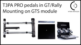 T3PA PRO/ T500 Pedals - GT Style mount upgrade, setup video.