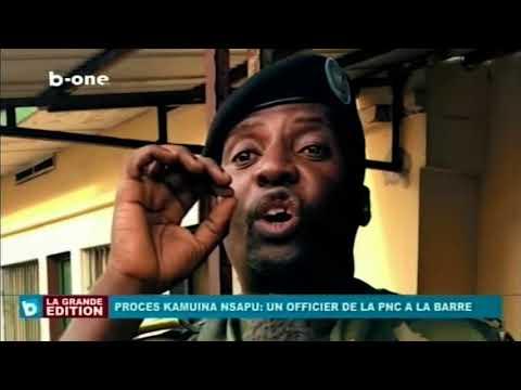 Procès KAMWENA NSAPU: Un officier de la PNC a la barre