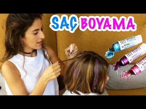 Aslı Maya'nın Saçını Boyadı | Bizim Aile eğlenceli Çocuk Videoları