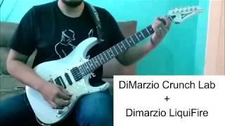 Pickups Captadores DiMarzio Crunch Lab DP228 e Liquifire DP227