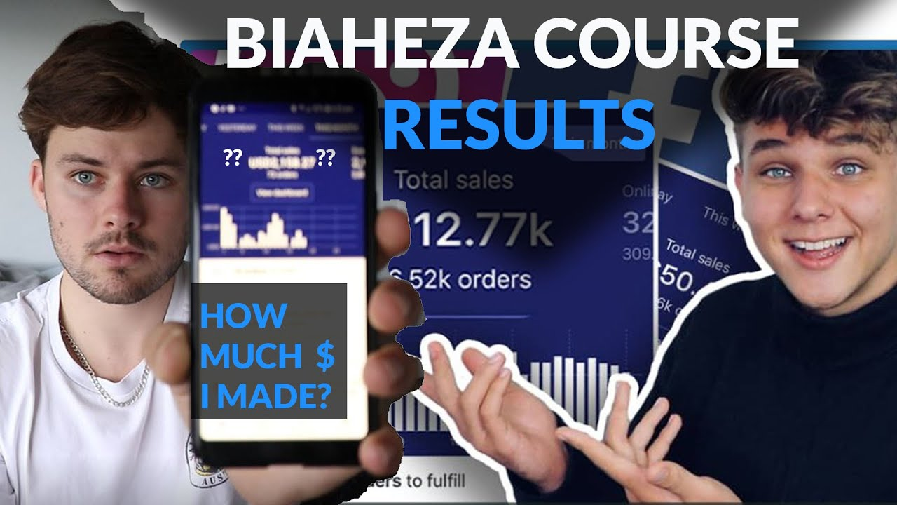 My Results From The BIAHEZA Dropshipping Course