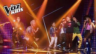 Alkilados y los niños del Equipo Yatra cantan A Dios le Pido | La Voz Kids Colombia 2018