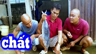 Ăn Cá Biển Theo Kiểu Này Nó Mới Chất - Thánh Ăn Thịt Mỡ Tặng Cá Ăn Mù Tạc | Sơn Dược Vlogs