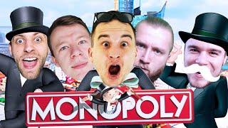 WIELKI EKIPOWY TURNIEJ W MONOPOLY! | Monopoly Plus [#1] /With: Diabeuu, Kubson, Dobrodziej, Plaga