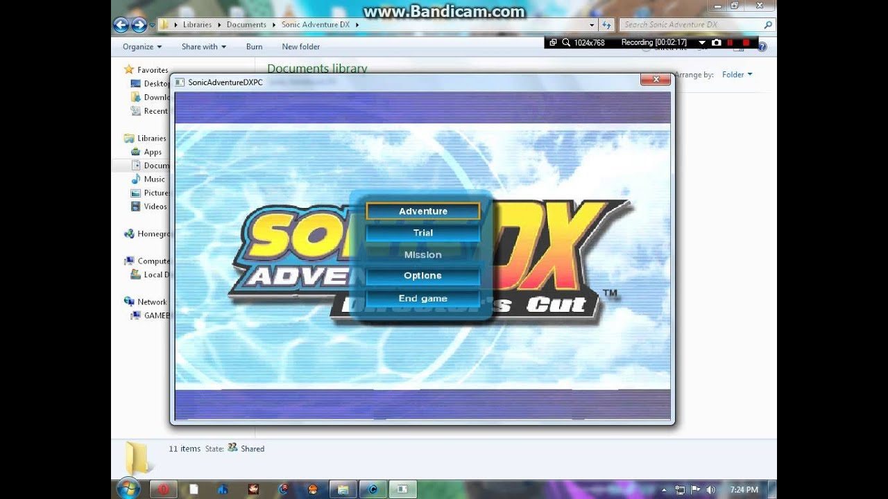 Sonic adventure dx pc full version download youtube - Dx images download ...