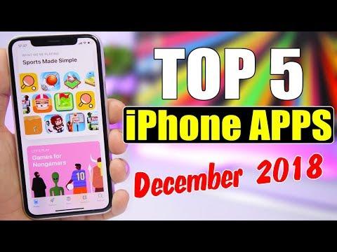 TOP 5 iPhone Apps - December 2018 !