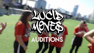 LUCID MOVES S2 AUDITIONS!