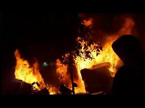 VIDEO Así han sido los graves altercados en Cataluña