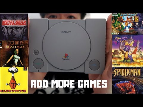 how-to-add-more-games-to-playstation-classic