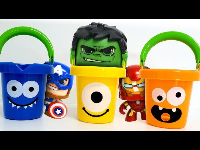 The Avengers Hero has turned into a bucket! ❤️ RACHAMAN TOY