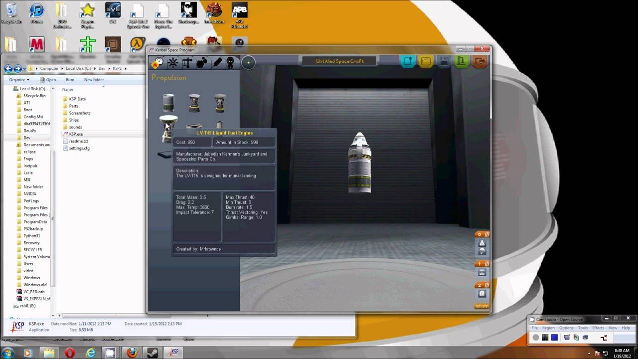 kerbal space program editing parts - photo #1